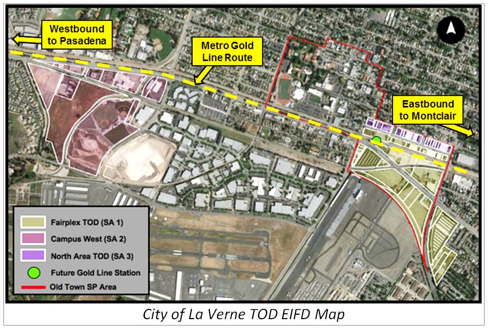 LaVerne Project Map